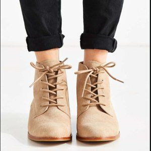 Urban Outfitters Marnie Suede Lace-up Boot